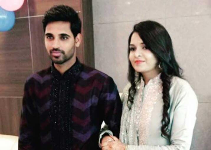 wedding & Reception Pictures Of Cricketer Bhuvneshwar Kumar