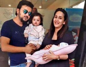 Chahat Khanna Shares Pics Of Newborn