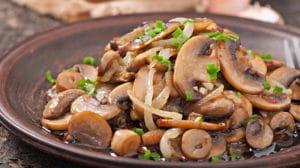 Chilli Mushroom Fry