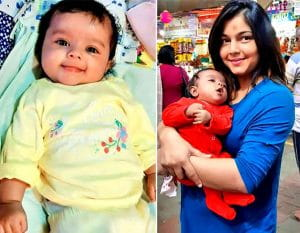 Actress Purvi's 3-Month-Old Daughter Is Like A Cute Little Doll
