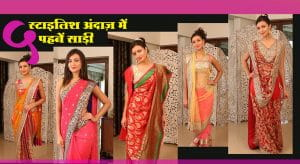 Different Ways Of Wearing Saree