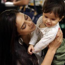 Shweta Tiwari son Reyansh's first birthday
