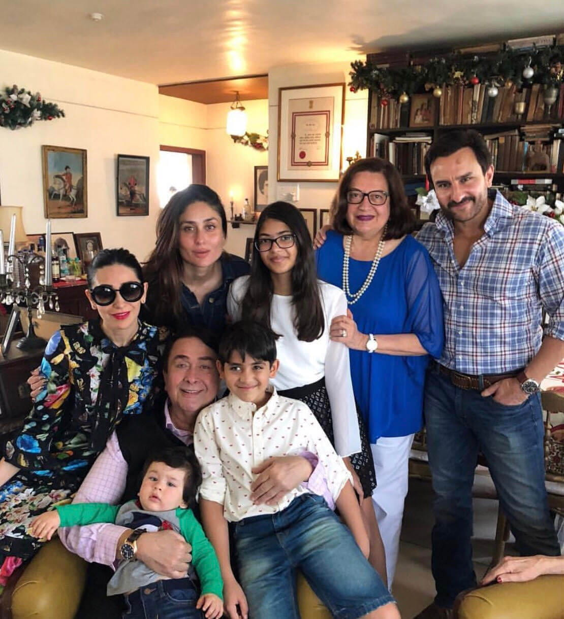 Taimur christmas Celebration, Inaya New Pic