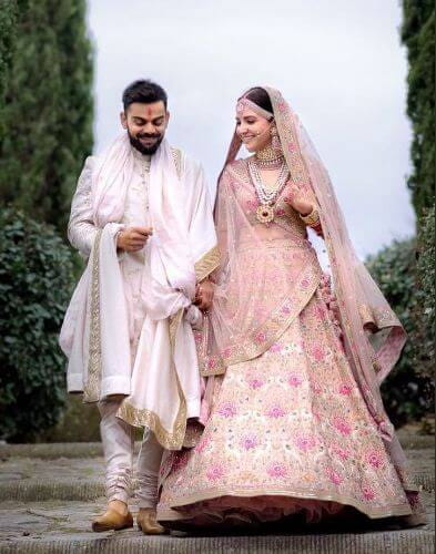 Virat Kohli, Anushka Sharma's Stylish Wedding Reception Card