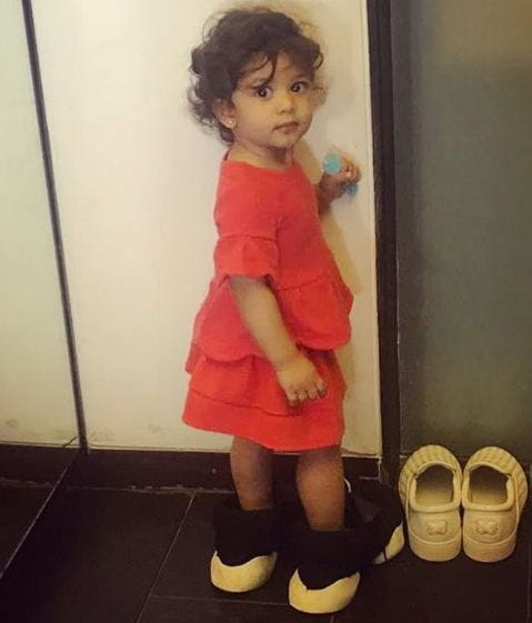 School Dress, Misha Kapoor, Mira Rajput