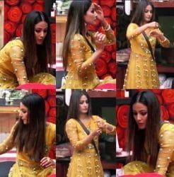Hina Khan, regrets, Salman's show