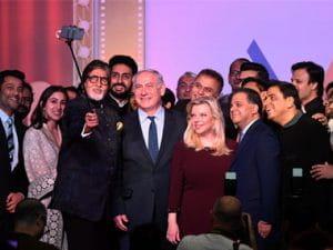 Amitabh Bachchan, Aishwarya Rai Bachchan, welcome Israel PM Netanyahu