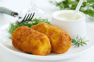 Cottage Cheese And Green Croquettes