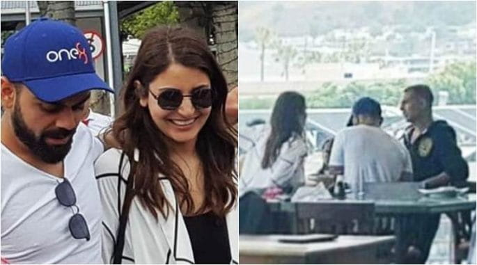 Virushka, Akshay Kumar in Cape Town