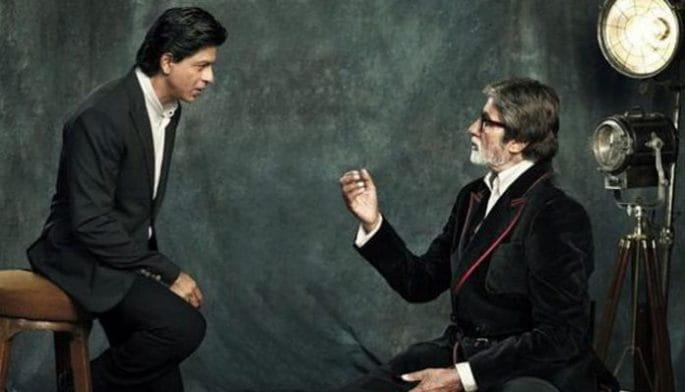 Amitabh bachchan, Twitter, SRK