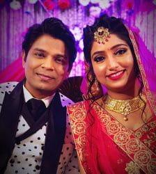 Ankit Tiwari got engaged with Pallavi Shukla