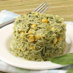 Rice Corner, Spinach-Corn Pulav