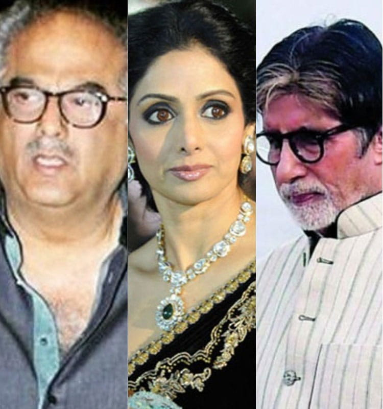 Amitabh bachchan, boney kapoor's, emotional message for sridevi