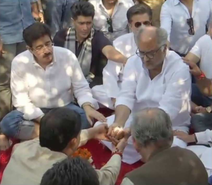 Sridevi's ashes immersed in Haridwar