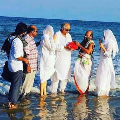 immerse Sridevi's ashes in Rameswaram