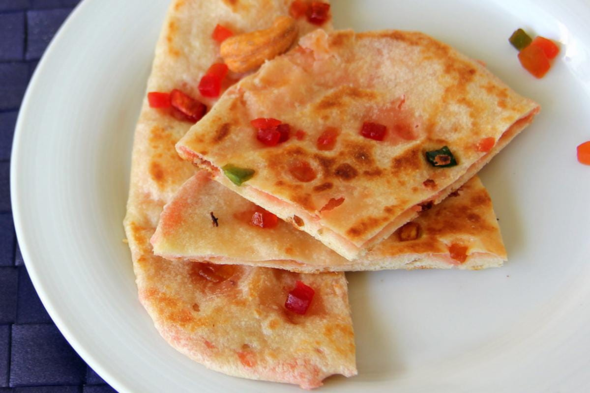 Kashmiri Naan, Different Flavour