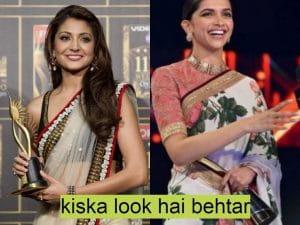 Who looks Better In Saree, Deepika Or Anushka