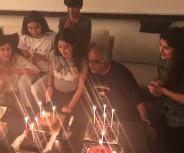 Kapoor family gets trolled for celebrating Janhvi Kapoor's 21st birthday