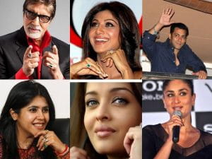 Bollywood Celebrities, Lucky, Astrological Gemstones