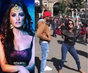 Anita Hassanandani, Dance, on the street, Switzerland