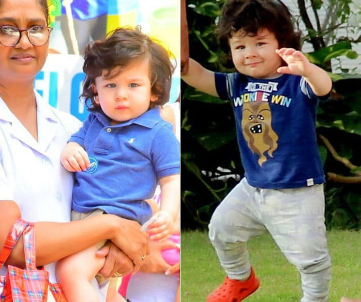 Adorable pics, Taimur Ali Khan, Playschool