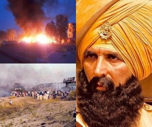 Fire Breaks Out, Set Of Akshay Kumar's Film Kesari