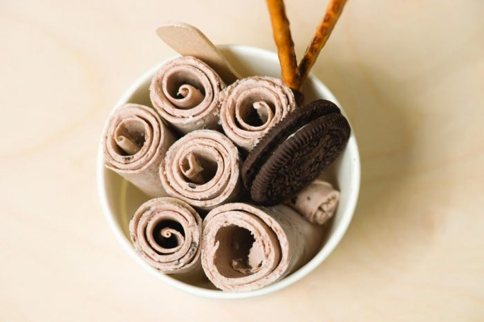 Chocolate Icecream Rolls