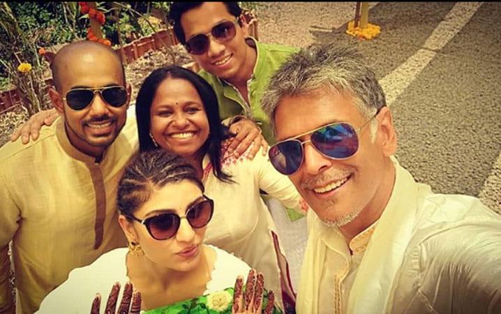 Milind Soman, Ankita konwar, married