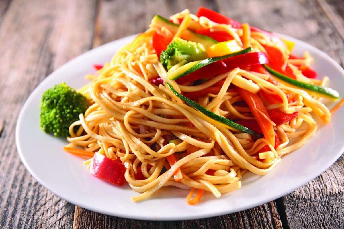 Pan-fried noodles