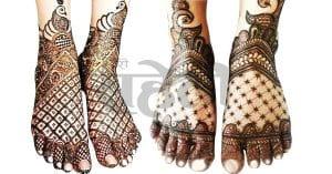 Dubai Mehandi Designs Legs