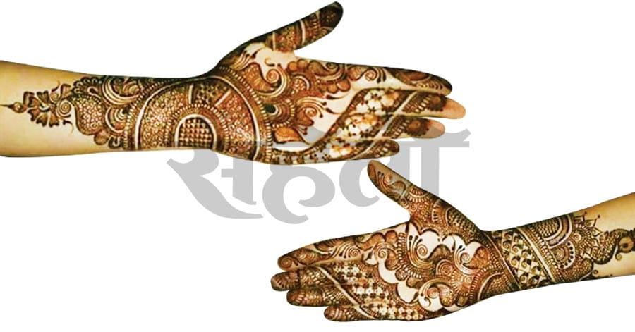 Indo-Arabic Mehandi Designs Hand