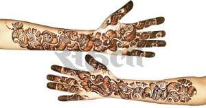 Indo Arabic Mehndi Designs Hand