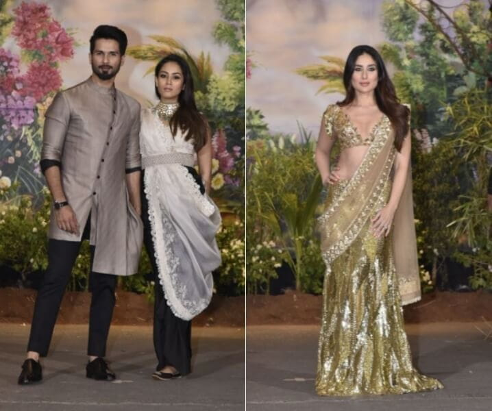 Ex Lovers of Bollywood, Sonam's Reception Party