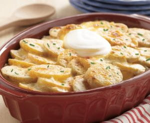 Creamy Potato With Sour Cream