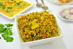 Veg Moong Dal Khichdi recipe