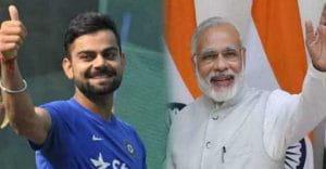 FitnessChallenge, PM Modi, virat kohli