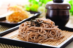 Noodles With Brown Sauce, Chinese Flavour