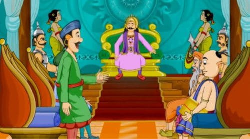 Tenali Rama Story, Root Of Rassagulla