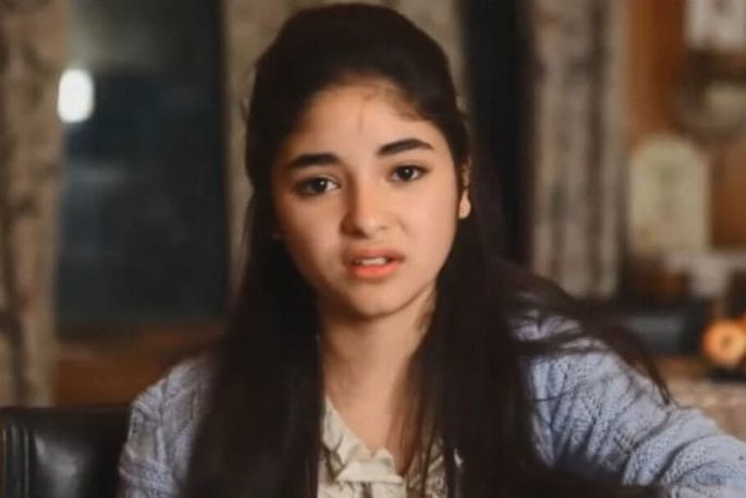 Zaira Wasim, struggle with Depression