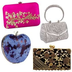 Clutch And Hand Bag