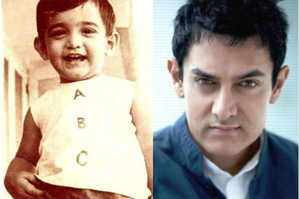Aamir Khan's Childhood Picture