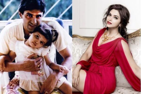 Deepika Padukone's Childhood picture