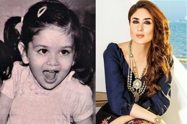 Kareena Kapoor's Childhood Picture