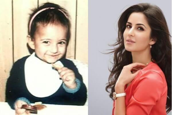 Katrina Kaif's Childhood Picture