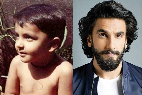 Ranveer Singh's Childhood picture
