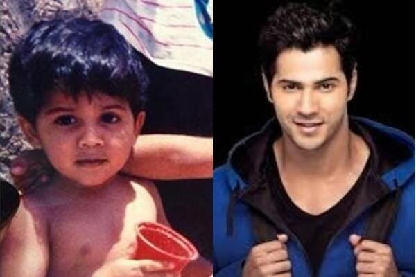 Varun Dhawan's Childhood picture