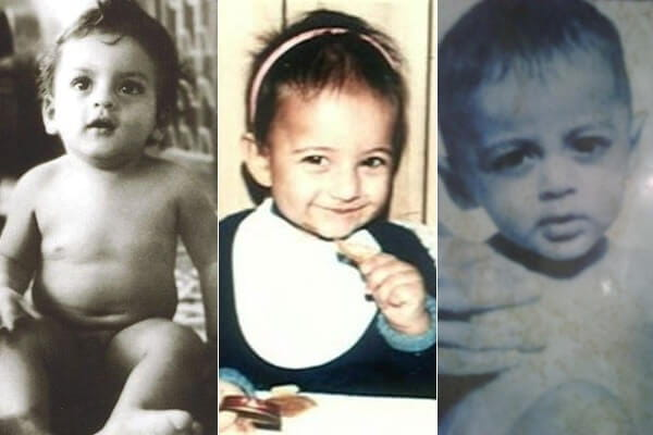 Childhood pictures of Top 10 Bollywood Celebs