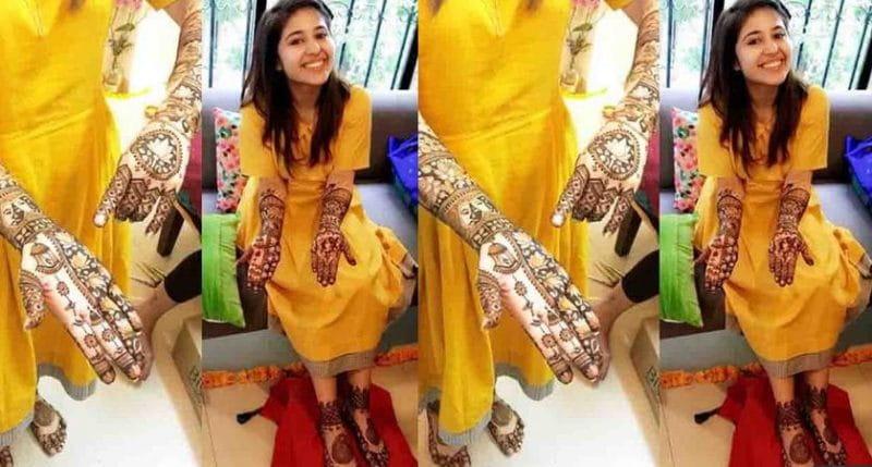 Mehandi designs, Shweta tripathi