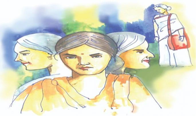 Short Story, Bojh, hindi kahani