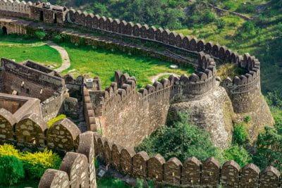 कुंभलगढ़, देखें दुनिया की दूसरी सबसे लंबी दीवार ( Kumbhalgarh, See World's Second Tallest Wall )